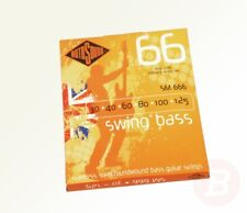 30 40 60 80 100 125 Rotosound SM666 Swing Bass 66 Stainless Steel 6 String Bass Guitar Strings