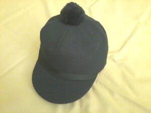 81f3acf7d9a Image is loading Original-Scotch-Cap-Navy-Wool-Sized-Langenberg-Hat-