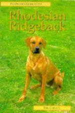 RHODESIAN RIDGEBACK (Pet Owner's Guide), Carlson, Stig C., New Books