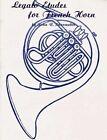 Legato Etudes for French Horn by Shoemaker, John R Shoemaker (Paperback / softback, 1985)