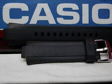 Casio Watch Band EQW-A1000,EQW-M1100 Black Resin Strap Edifice Tough Solar Mens