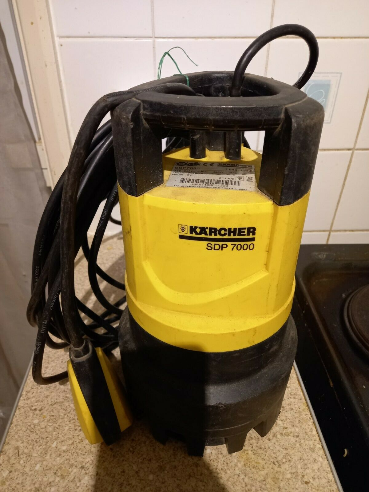 Kärcher SDP 7000 Submersible Water Pump. Great working condition