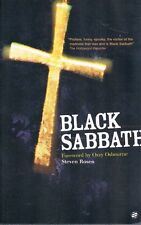Black Sabbath by Steve Rosen Forward by Ozzy Osbourne PB 2001 Sanctuary OOP