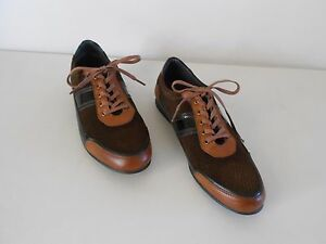 70e3050cd38b7 Men s RB Italia Casual Shoes Brown Leather   Suede US 11-11.5 EUR 44 ...