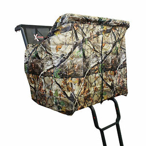 X-Stand Treestands XATA606 2 Person Deer Tree Stand DZK Camouflage Blind Kit