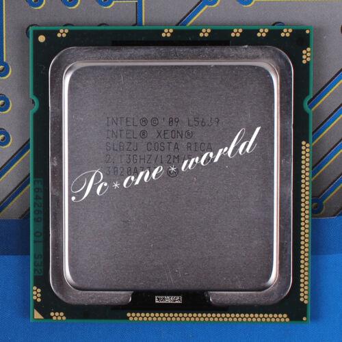 100/% OK SLBZJ Intel Xeon L5639 2.133 GHz Quad-Core Processor CPU LGA 1366