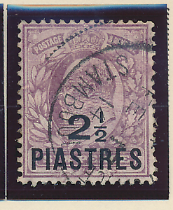 Great-Britain-Offices-In-the-Turkish-Empire-Levant-Stamp-Scott-34-Used