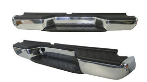 REAR-STEP-BUMPER-FOR-NISSAN-NAVARA-D40-12-2005-ON-SPAIN-BUILT-WITH-BRACKETS