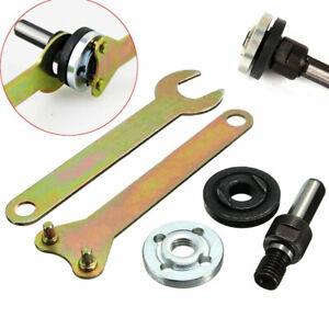 KIT-Arbor-Mandrel-Drill-Adaptor-For-Grinder-Cut-Off-Wheels-Disc-Shank-Tool-Sets