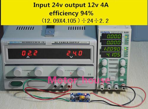 5A Mini DC-DC Buck Step Down Voltage Converter 5V-36V to 3.3V 6V 9V 18V 12V 24V