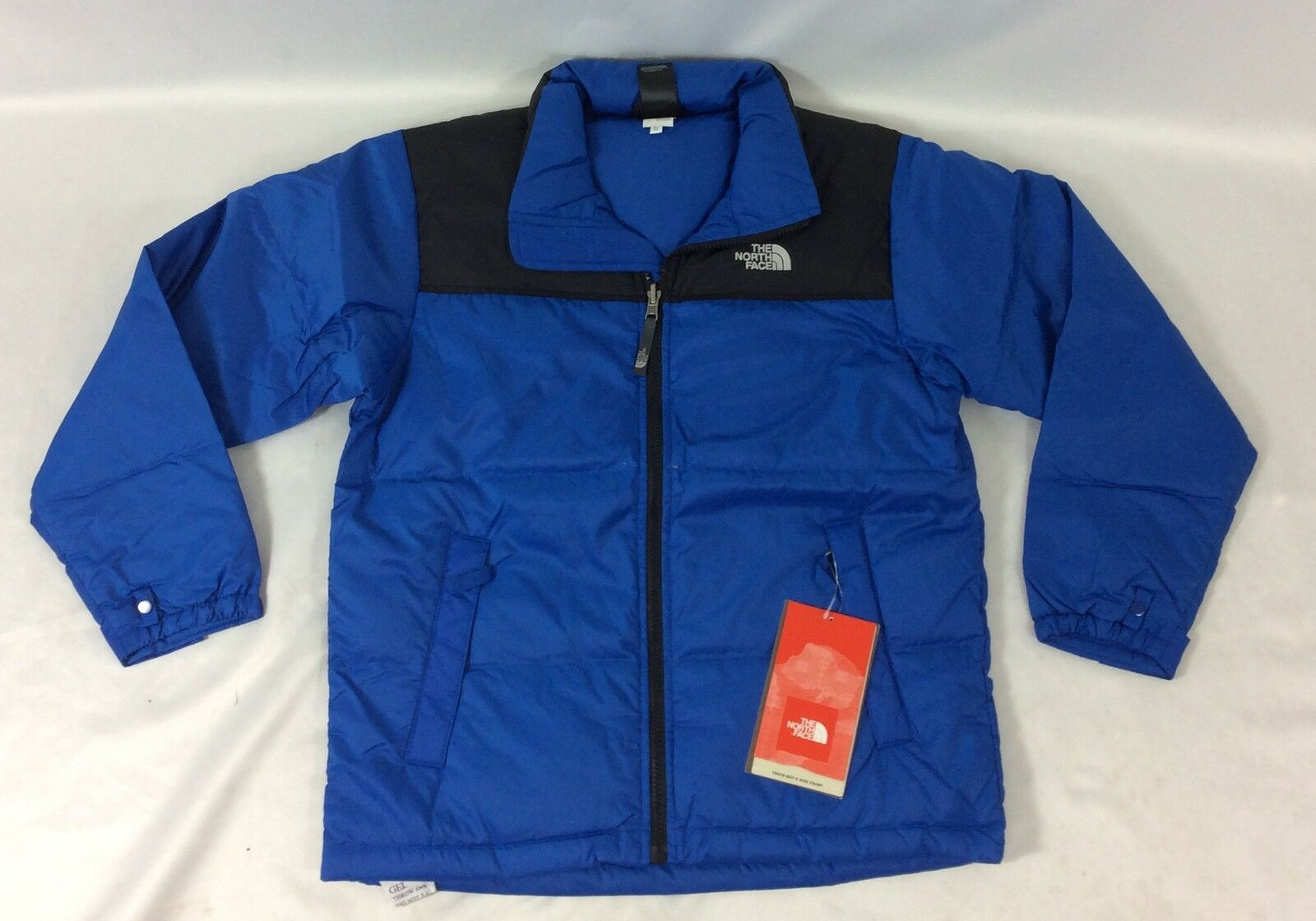 The North Face Boys Nuptse Down Jacket Nautical Blue Size Youth L ... e2a27e694