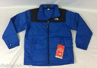 The North Face Boys Nuptse Down Jacket Nautical Blue Size Youth L