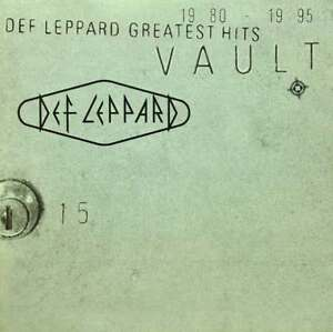 Vault-Greatest-Hits-1980-1995-Def-Leppard-CD-Sealed-New