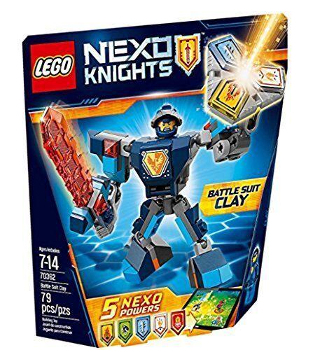 Lego (Lego) Nex Caballeros batorusutsu Clay 70362