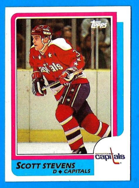 a7d2f090330 1986-87 Topps SCOTT STEVENS (ex-mt) New Jersey Devils | eBay