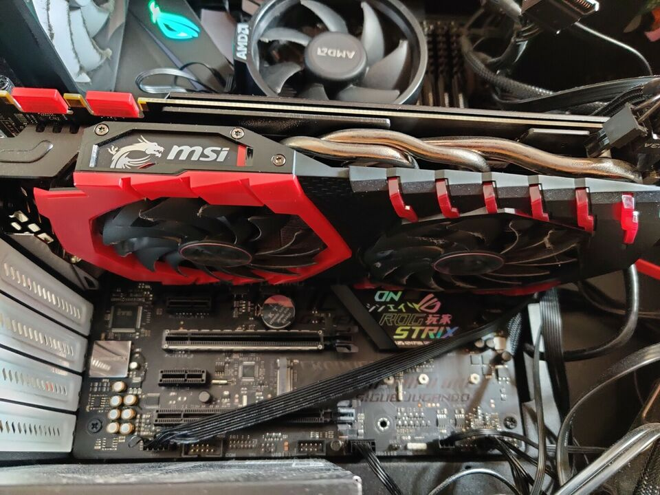 GeForce GTX 1080 GAMING X 8G MSI, 8 GB RAM, Perfekt