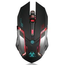 Wireless Gaming Mouse Vegcoo C8 Silent Click Rechargeable C9 Black