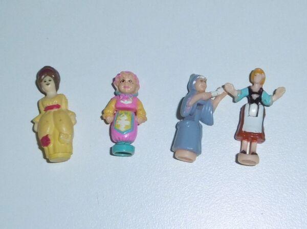 Lot De Mini Figurines Cendrillon, Marraine La Fée Polly Pocket Et Autres Marques