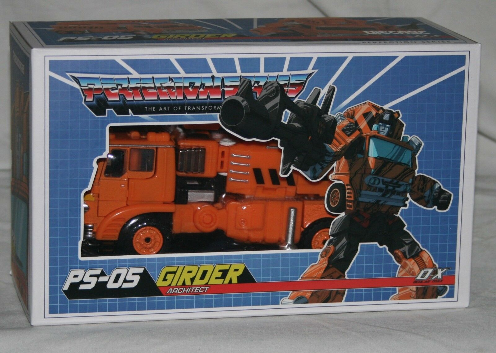 Transformers mastermind creations ps-05 girder misb