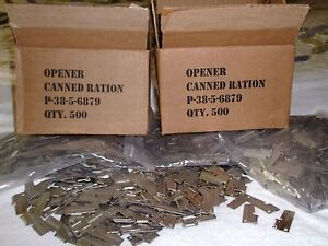 P51 Can Opener 20 Piece US Military Issue by US Shelby Company Hunt Fishing Camp