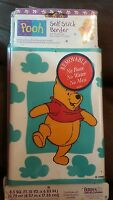 Winnie The Pooh And Friends Wall Border Nip Old Stock