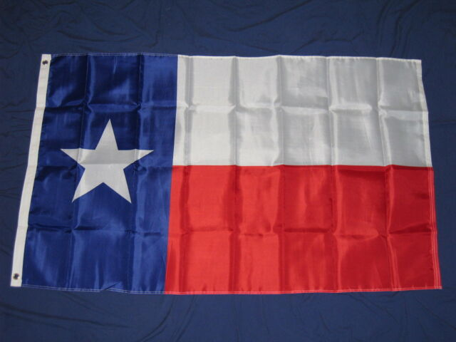 Home Decor Texas Flag Lone Star State Indoor /& Outdoor Grommets Feet 3/' x 5/' ft