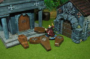 ATAUDES COFFINS HEROQUEST DESCENT WARHAMMER ROL MORDHEIM LOTR DUNGEONS & DRAGONS