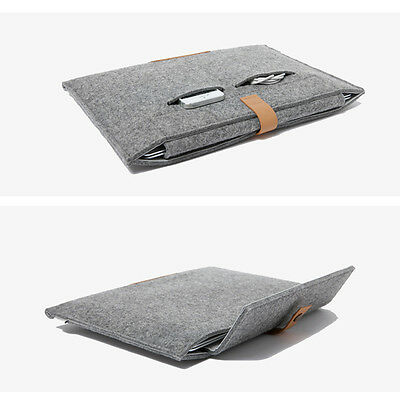 "For Apple MacBook Air Pro11"" 12"" 13"" 15"" Felt Sleeve Laptop Case Cover Bag"