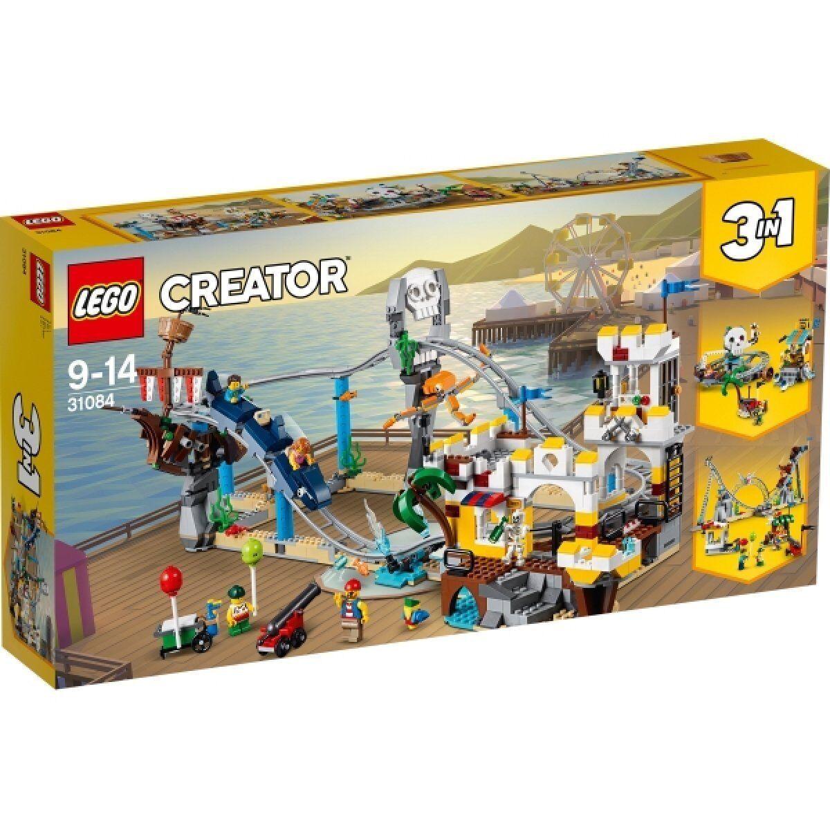 LEGO 31084 Creator Piraten-Achterbahn NEU OVP