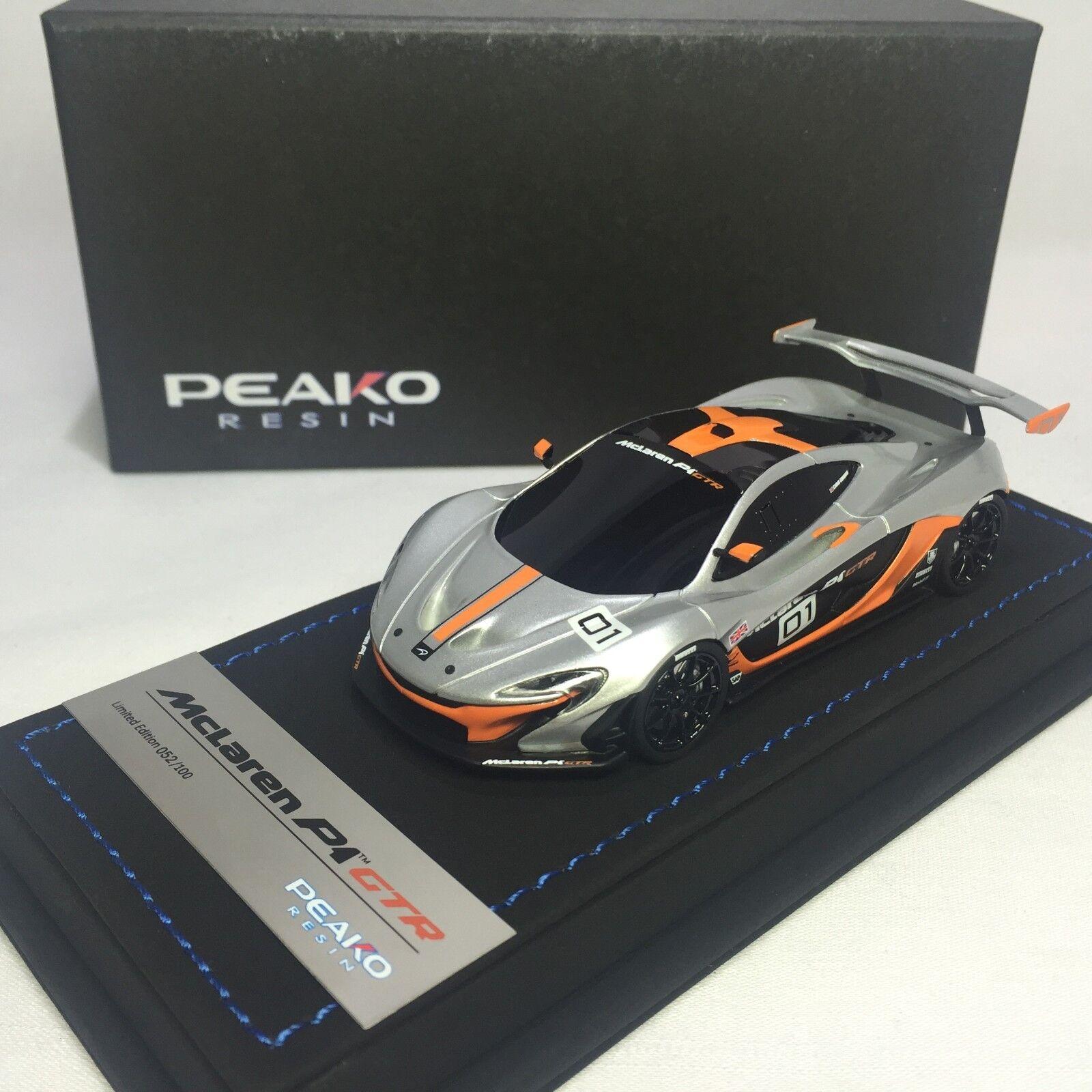 1 43 Peako Mclaren  P1 GTR Pebble plage Debut 32200  bonnes offres