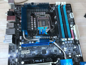 P7P55 WS SUPERCOMPUTER for ASUS  Motherboard skt 1156 DDR3 Intel P55 TEST OK