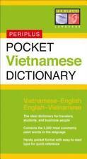 Pocket Vietnamese Dictionary: Vietnamese-English English-Vietnamese Periplus Po