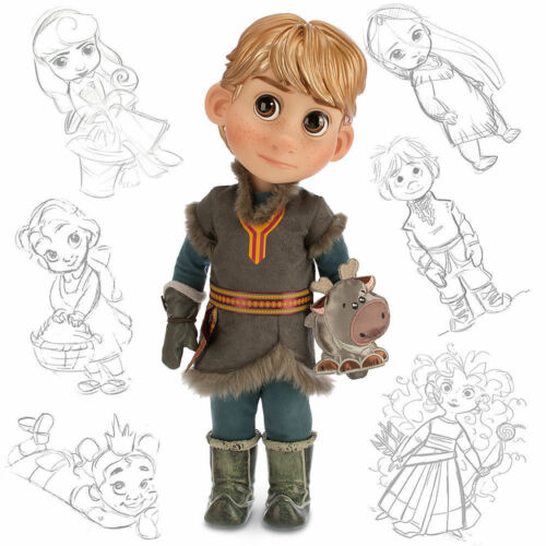 NEW Disney Designer Animators Collection 16 Toddler Doll Frozen Kristoff New
