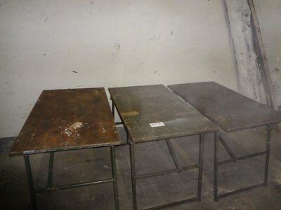 1x Ablage Tisch 1200x700x830 Holztisch Klapptisch ex BW Bundeswehr TI1
