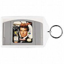 Nintendo 64 N64  GOLDEN EYE 007 Game Cartridge  Keychain New #1