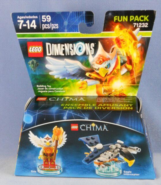 Lego Dimensions Chima Eris Eagle Interceptor 3 In 1 Building Toy 45 Pcs 7+