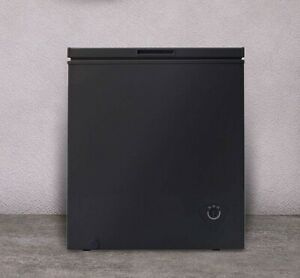 5 0 Cu Ft Chest Deep Freezer Upright Compact Dorm Apartment Home Black New Ebay