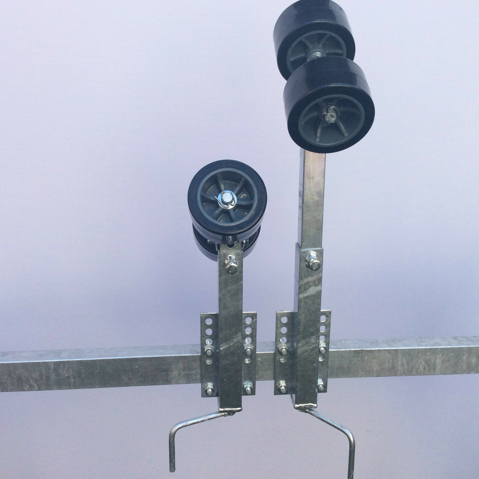 Kurbelstütze Sliprollen mit Sliprollen Kurbelstütze aus Polyurethan für Stiefeltrailer , kein Abrieb ebb7b7