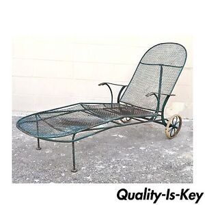 Image Is Loading Vintage Russell Woodard Sculptura Wire Mesh Iron Reclining