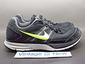b2459cead68a Men s Nike Pegasus+ 29 Black Volt Dark Grey Running Shoes 524950-070 ...
