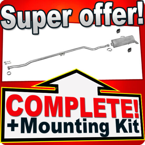 Peugeot 106 1.1 1.4 44 55KW 2000-2004 Silencer Exhaust System 220B