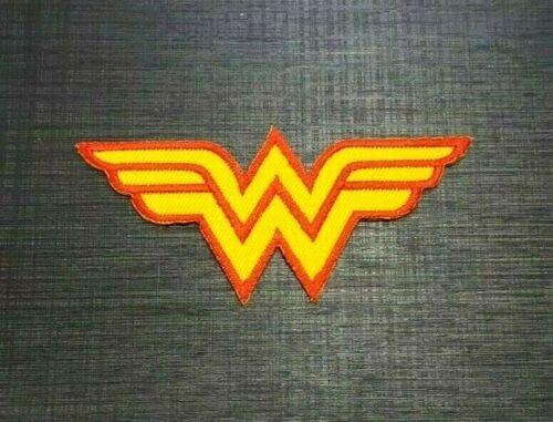 WONDER WOMAN MARVEL CARTOON SUPERHERO MOVIE Embroidered Iron Sew On Patch Logo