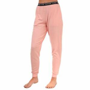 Women's Calvin Klein Tapered Leg Lounge Jogger Pants in Pink