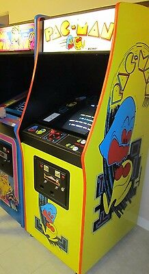 Arcade Machine,-Coin Operated,-Amut,- Bally Midway,-,Pacman ... on