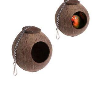haus-haengen-coco-wellensittich-pet-parrot-kokosnuss-form-vogelkaefig