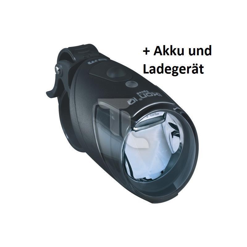 Busch und Müller B & M Ixon IQ Speed mit Ladegerät und Akkus Neu Fahrradlampe