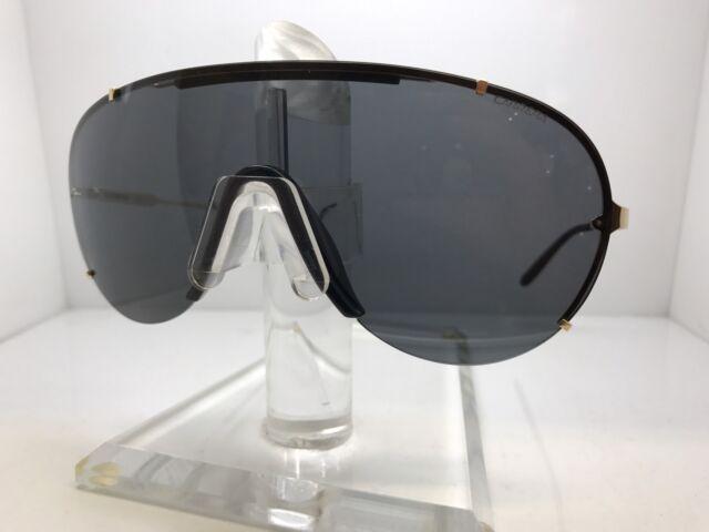 4f3104d932e Brand New CARRERA Sunglasses 128 S J5G NR Black Gold Gray For Men ...