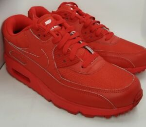 separation shoes 477c9 88874 Image is loading NIKE-AIR-MAX-90-WMNS-ID-RED-SIZE-