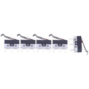 3X-AC-125V-1A-SPDT-SUBMINIATURIZZATI-Micro-Interruttore-A-LEVA-5-PZ-O8R7