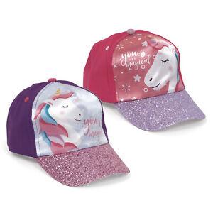 Disney Minnie Maus Kappe mit Einhorn und Regenbogen Kappy Baseballcap NEUWARE